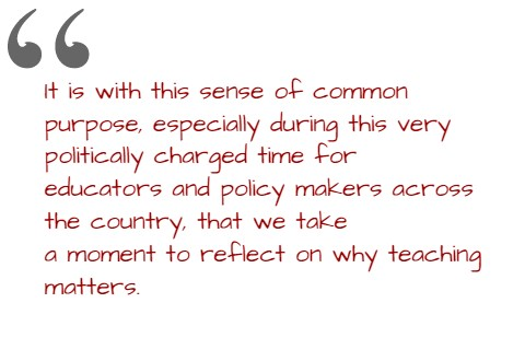 """Getting to the """"Why"""" of Teaching!"""